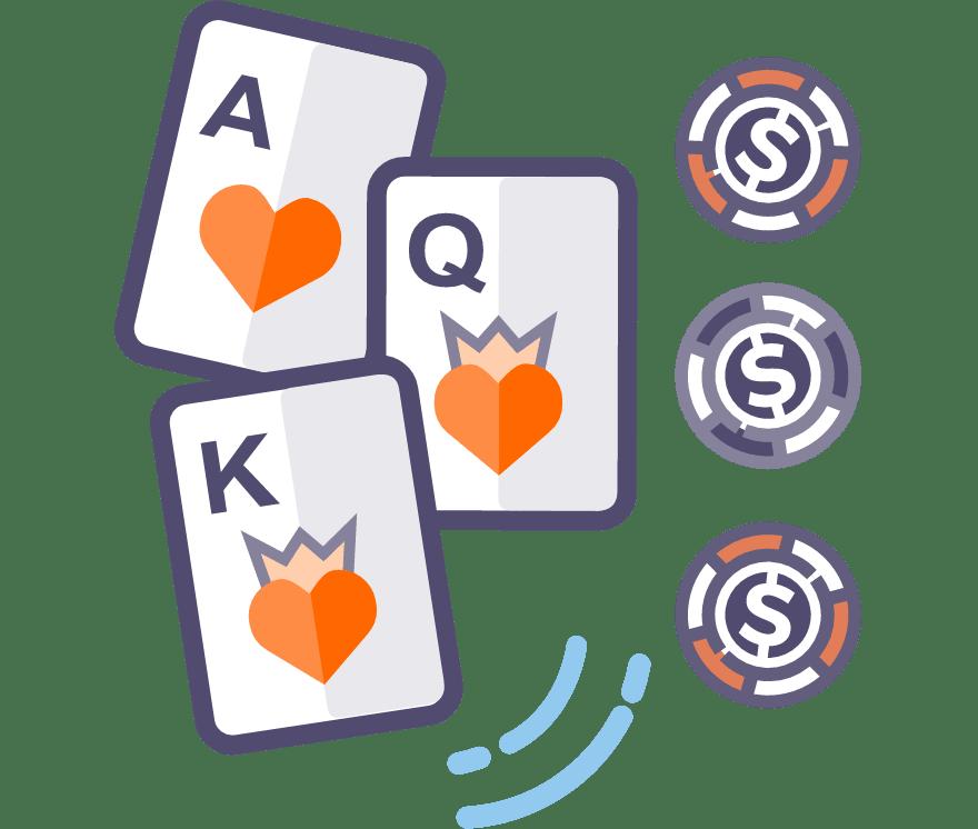 Los 58 mejores sitios de Casino de Póker de tres cartas en línea en Argentina
